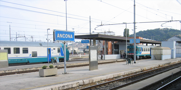 Ancona station parking